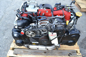 2008 08 Subaru Impreza Wrx Sti Engine Motor Assembly Ej257 2 5l Turbo 08 14
