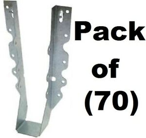 70 Pk Simpson Strong Tie Lu210 20 Gauge Steel 2 X 10 Face Mount Joist Hangers