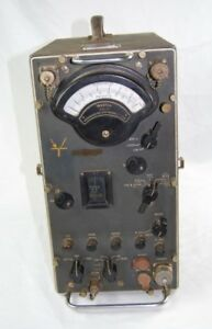 Stoddart Nm 20a Radio Interference Field Intensity Meter Vintage Serial 156 7