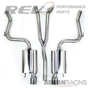 For Mustang 2 3l Ecoboost Stainless Steel Cat Back Exhaust Kit Bolt On Rumbler