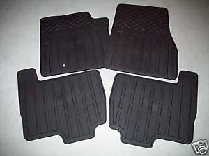 2007 2008 2009 2010 Ford Expedition All Weather Floor Mats 4 Piece Set
