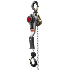 Jet 376200 Jlh Series 1 Ton Lever Hoist 5 Lift With Overload Protection