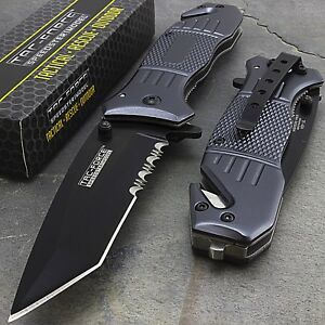 TAC FORCE TANTO SPRING ASSISTED TACTICAL 7.75
