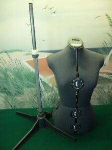 Seamstress Mannequin Torso Adjustable Tailors Dressmaking Dress Form
