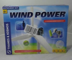 Thames Kosmos Wind Power 3 0 Experiment Kit Build Wind Turbines W Generator