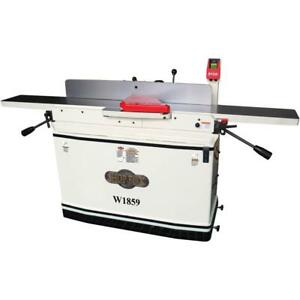 Shop Fox 8 X 76 Parallelogram Jointer With Mobile Base W1859 Free Shipping