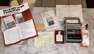 Sencore Fe23 Little Henry Field Effect Multimeters Vintage With Box And Doc