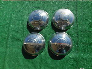 1946 Lincoln Continental Hub Caps Nice Set Of 4 1947 1948 46 47 48