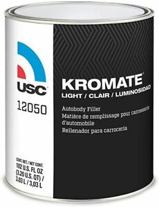 Usc 12050 Kromate Light Lightweight Auto Body Filler gallon
