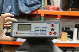 Working Wavetek Bdm35 Benchtop Multimeter