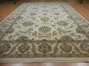 Super Turkish Vgdy Qoom Ghoum Oushak Chobi Serap Tabrizz Contemporary 10x14 Rug