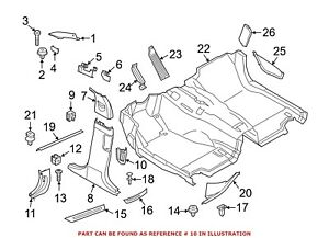 For Bmw Genuine Dashboard Air Vent Right 64227211888