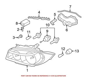 For Bmw Genuine Headlight Restoration Kit 63116924482