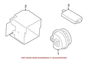 For Bmw Genuine Anti theft Alarm Control Unit 65776989713