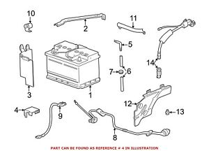 For Bmw Genuine Battery Terminal Protector 61218375653