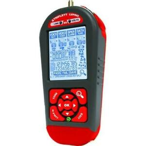 Lvpro30 Low Voltage Network Cable Tester W 12 Apps For All Wire Types Triplett