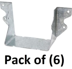 6 Simpson Strong Tie U44 4 X 4 Galvanized Face Mount Joist Hanger