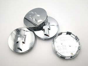 4x 2007 2013 Chevrolet 3 25 Chrome Center Caps For 18 20 22 Wheels 9596403