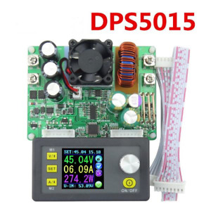 50v 15a Dps5015 Supply Power Module Regulated Lcd Integrated Voltmeter Ammeter