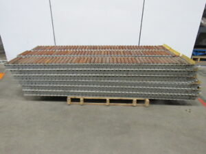 Carton Flow Gravity Racking Conveyor 12 X 96 Lot Of 18