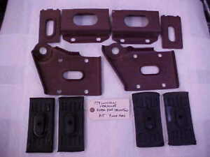 Lincoln Versailles 1979 Rear End Mounting Kit