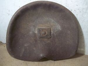 Old John Deere Steel Farm Implement Seat