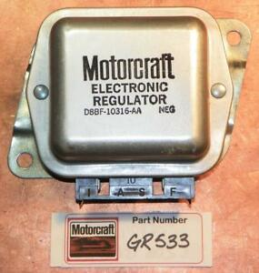 Nos Oem Motorcraft Alternator Voltage Regulator 1976 86 Ford Mustang D8bf 10316