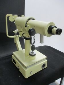 Used Topcon Optical Ophthalmoscope For Medical Vision Optometry Sold As is