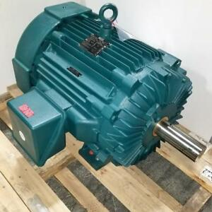 Leeson 100 Hp 1200 Rpm Tefc 460 Volts 444t Frame Ieee841 3 Phase Motor 811661 00