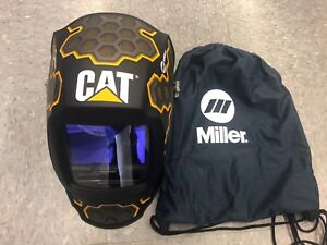 Miller Cat Edition 1 Digital Elite Auto Darkening Welding Helmet 271320