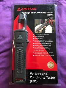 Amprobe Vpc 30 Electrical Tester With Voltect Non contact Voltage Detection