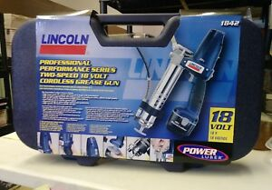 Lincoln Professional Series 2 Speed 18v Grease Gun 1842