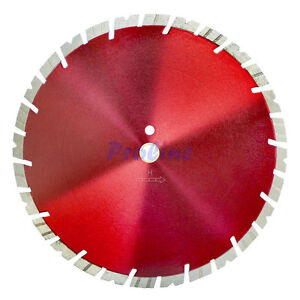 Metallic Red 14 X 125 X 1 Turbo Segmented Diamond Blade Cutter Cutting