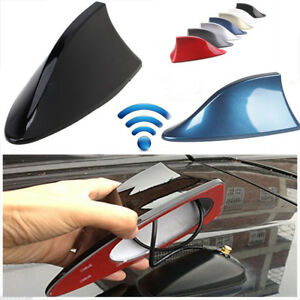 Universal Shark Fin Shape Car Body Fm Am Antenna Aerial Radio Replacement Signal