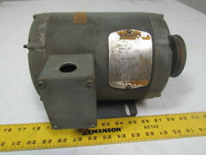 Baldor M3116 1hp Electric Motor 208 230 460v 3ph 56 Frame 1725 Rpm
