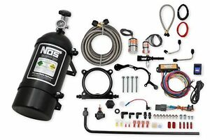 Nos 02126bnos Nos Complete Wet Nitrous System For 2015 2017 Mustang With 5 0l
