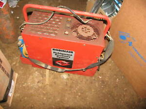 Robinair 17650 Refrigerant Recovery Recycling Machine