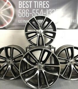 20 Dodge Charger Challenger Scat Pack Wheels And Tires Package 2526 Oem 5ld37tr