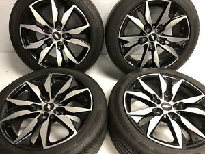 18 Oem Chevy Malibu Wheels And Tires 5716 Take Off 245 45 R18 Continental