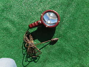 1950 s 1960 s Loyal Electric Handheld Spotlight In Working Condition Chevy Ford