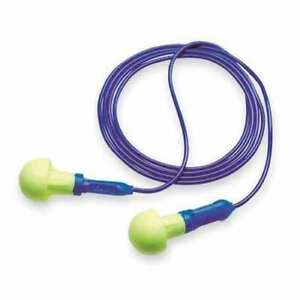 3m E a r Push ins Corded Earplugs In Poly Bag 100 box 318 1001 28db Rated Pod