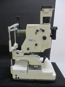 Topcon Trc 50x Retinal Camera System For Medical Rear eye Photography Optometry