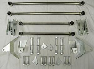 1932 Ford Heavy Duty Stainless 32 Ss Triangulate Rear 4 Link Four Bar Kit