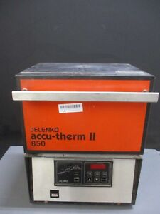 Jelenko Accu therm Ii 850 Dental Lab Furnace For Restoration Material Heating