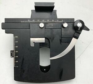 B l Bausch Lomb Mechanical Stage Dynoptic Microscope Part Free Shipping