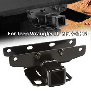 Rear 2 Class 3 Tow Trailer Receiver Hitch For 2018 2019 Jeep Wrangler Jl Jlu