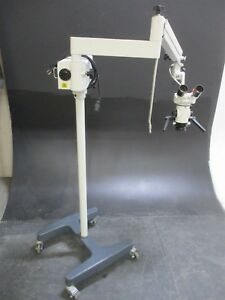 Used Seiler Ssi 202 402 Dental Microscope For Oral Surgery Magnification