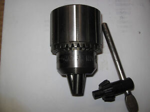 Jacobs 36 Drill Chuck key Jt3 Mount 3 16 3 4 Capacity Nos Rac