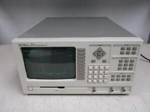 Hp 35660a Dynamic Signal Analyzer Self Test Pass
