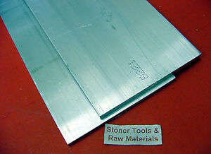 2 Pieces 3 8 X 8 X 14 Aluminum 6061 Flat Bar Solid T6511 New Mill Stock